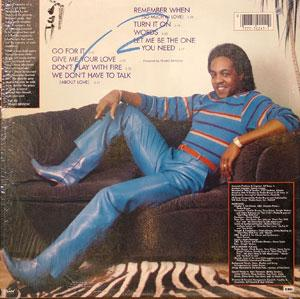 Back Cover Album Peabo Bryson - Don't Play With Fire