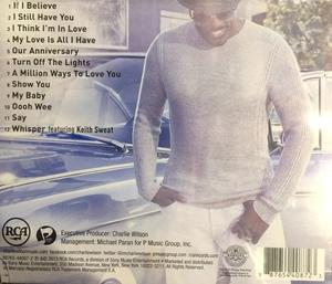 Back Cover Album Charlie Wilson - Love, Charlie