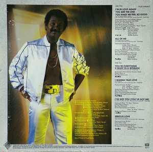 Back Cover Album Tyrone Davis - Man Of Stone