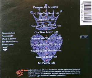 Back Cover Album Terry Steele - King Of Hearts