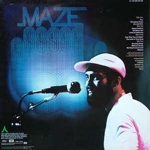 Back Cover Album Maze - Live In New Orleans
