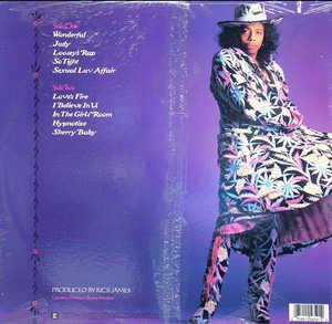 Back Cover Album Rick James - Wonderful