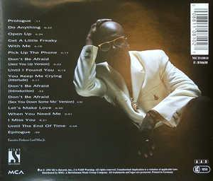 Back Cover Album Aaron Hall - The Truth