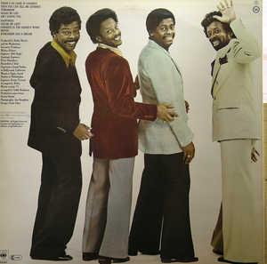 Back Cover Album The Manhattans - There's No Good In Goodbye