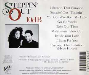 Back Cover Album 10db - Steppin' Out