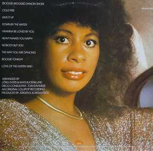 Back Cover Album Claudja Barry - I Wanna Be Loved By You