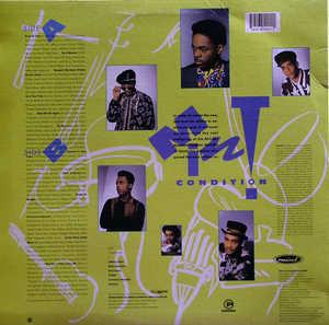 Back Cover Album Mint Condition - Meant To Be Mint