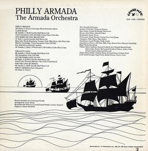 Back Cover Album The Armada Orchestra - Philly Armada