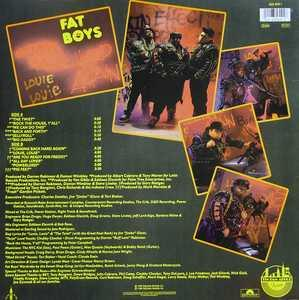 Back Cover Album Fat Boys - Coming Back Hard Again