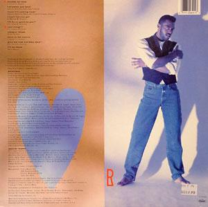 Back Cover Album Bert Robinson - I Promise You Love