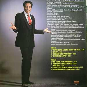 Back Cover Album Gene Chandler - Your Love Looks Good To Me