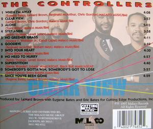 Back Cover Album The Controllers - Clear View