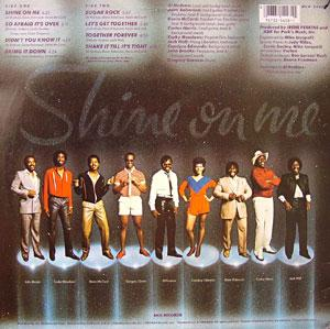 Back Cover Album One Way - Shine On Me