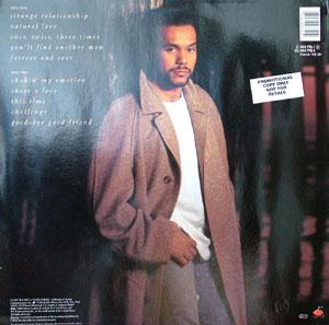 Back Cover Album Howard Hewett - Forever And Ever