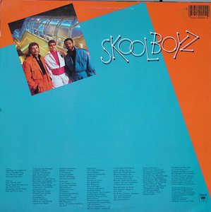Back Cover Album Skool Boyz - This Is The Real Thing