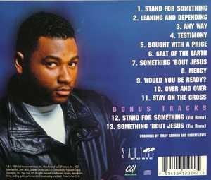 Back Cover Album Terry Garmon - Stand For Something