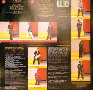 Back Cover Album The Dazz Band - Joystick