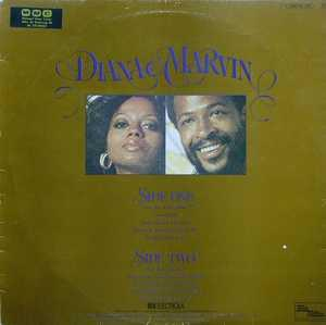 Back Cover Album Marvin Gaye - Diana And Marvin