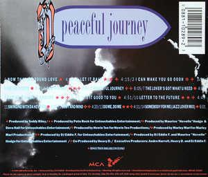 Back Cover Album Heavy D & The Boyz - Peaceful Journey