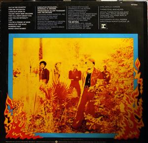 Back Cover Album The Meters - Fire On The Bayou