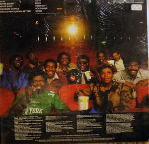 Back Cover Album Mass Production - In A City Groove