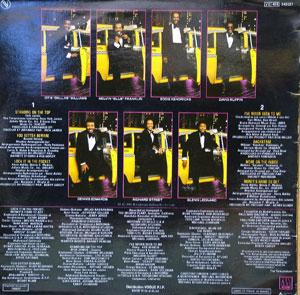 Back Cover Album The Temptations - Reunion