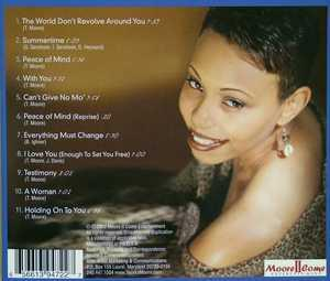 Back Cover Album Temika Moore - Moment Of Truth