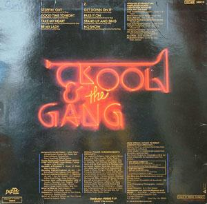 Back Cover Album Kool & The Gang - Something Special