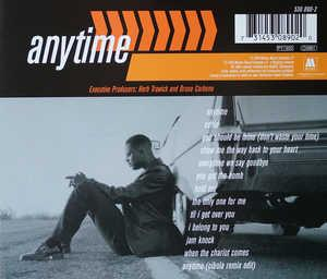 Back Cover Album Brian Mcknight - Anytime