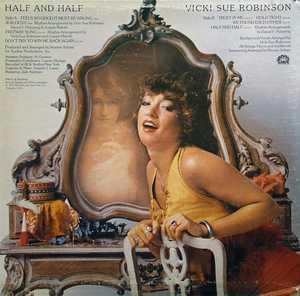 Back Cover Album Vicki Sue Robinson - Half and Half