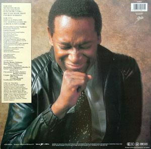 Back Cover Album Luther Vandross - Never Too Much