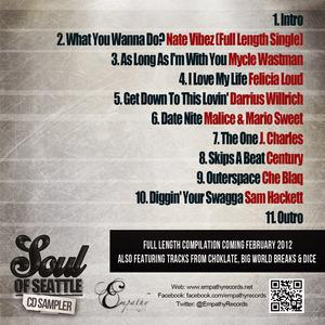 Back Cover Album Various Artists - Soul Of Seattle