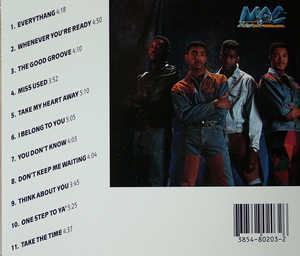 Back Cover Album Mac Band - The Real Deal