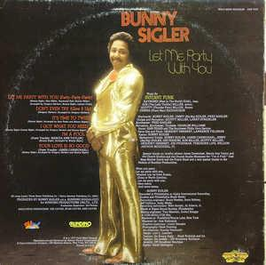Back Cover Album Bunny Sigler - Let Me Party With You