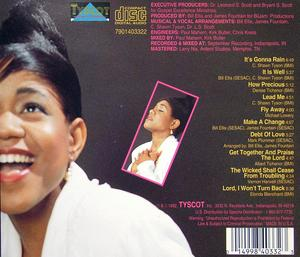 Back Cover Album Denise Tichenor - Refreshingly Neecy