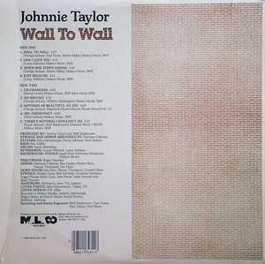 Back Cover Album Johnnie Taylor - Wall To Wall