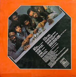 Back Cover Album Commodores - Caught In The Act