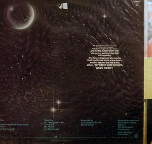 Back Cover Album Larry Graham And Graham Central Station - My Radio Sure Sounds Good To Me