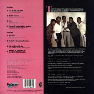 Back Cover Album The Dells - The Second Time
