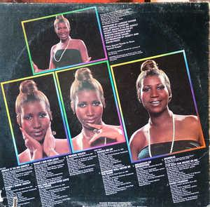 Back Cover Album Aretha Franklin - Sweet Passion