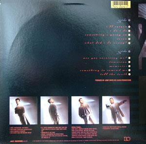 Back Cover Album 52nd Street - Something's Going On