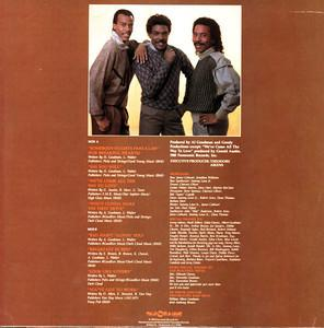 Back Cover Album Ray Goodman & Brown - All About Love, Who's Gonna Make The First Move?