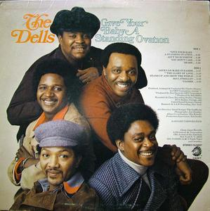 Back Cover Album The Dells - Give Your Baby A Standing Ovation