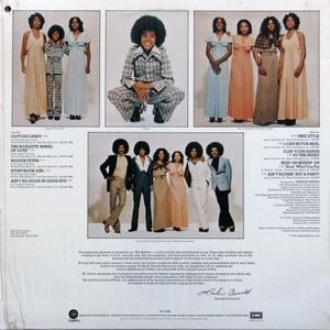 Back Cover Album Sylvers - Showcase