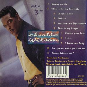 Back Cover Album Charlie Wilson - You Turn My Life Around