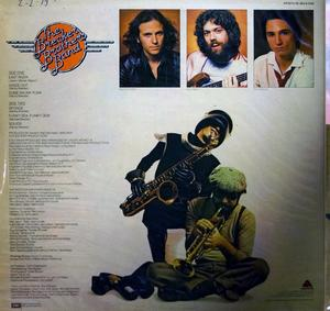 Back Cover Album The Brecker Brothers - Heavy Metal Be-Bop