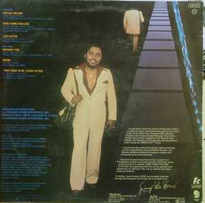 Back Cover Album Jimmy 'bo' Horne - Goin' Home For Love