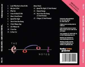 Back Cover Album The Cool Notes - Have A Good Forever  | ftg records | FTG 174 | UK