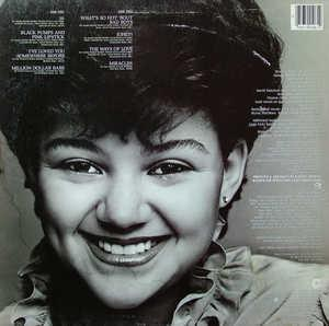Back Cover Album Stacy Lattisaw - Sixteen