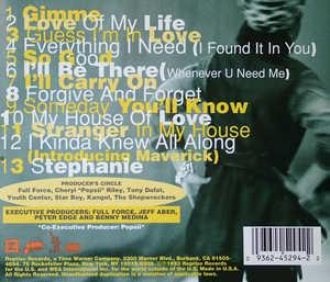 Back Cover Album Cheryl Pepsii Riley - All That!